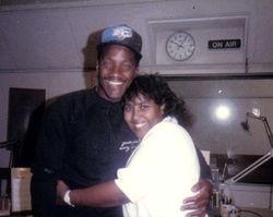 Rachell & Radio Icon, Donnie Simpson